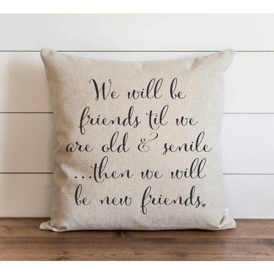 New Friends Pillow - Horse Country Trading Company