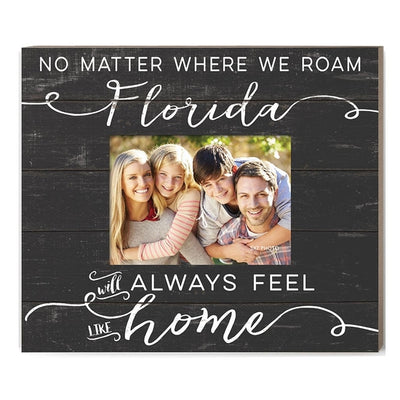Florida Always Feel Home Picture Frame - Horse Country Trading Company