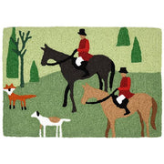 Fox Hunt Rug 20 x 30 - Horse Country Trading Company