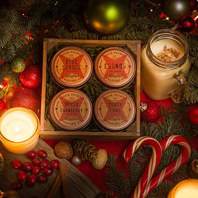 Holiday Traditions 4oz Soy Candle Set - Horse Country Trading Company