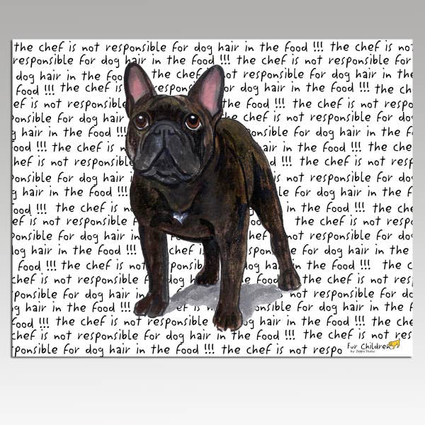 French Bulldog Brindle Cutting Board - Horse Country Trading Company
