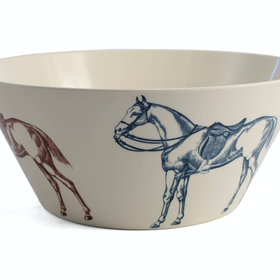 Ranchero Large Serving Bowl - Horse Country Trading Company