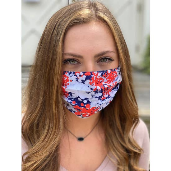 Patriotic Colors Face Mask - Horse Country Trading Company