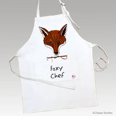 Fox Mask Apron - Horse Country Trading Company