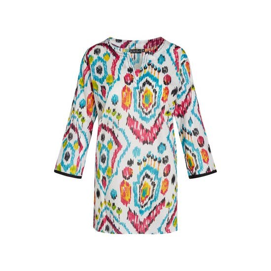 Painted Abstract Tunic - Horse Country Trading Company