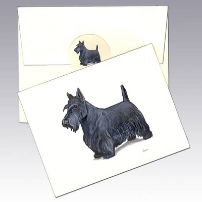 Scottish Terrier Note Cards - Horse Country Trading Company