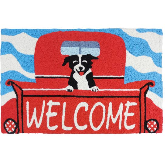 Welcome Pup Rug 20 x 30 - Horse Country Trading Company