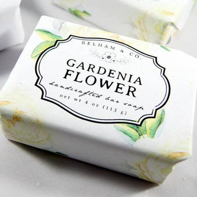 Gardenia Flower Soap - Horse Country Trading Company