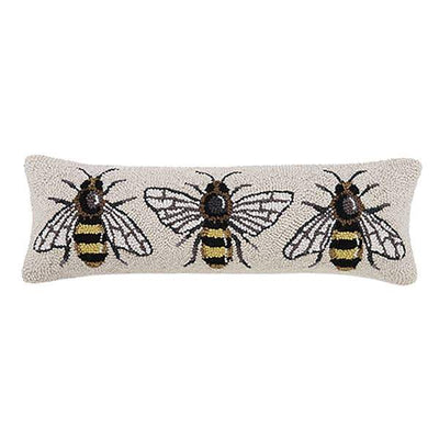 Bee Lumbar Hook Pillow - Horse Country Trading Company