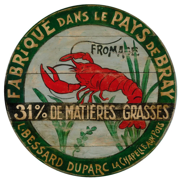 "Lobster Lazy Susan 15"" Diameter - Horse Country Trading Company"