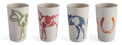 Ranchero Tumblers - Set of 4 - Horse Country Trading Company