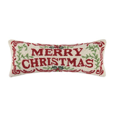 Merry Christmas Hook Pillow - Horse Country Trading Company