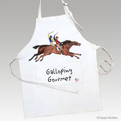 Antique Race Horses Aprons - Horse Country Trading Company
