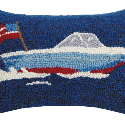 Speed Boat Hook Pillow - Horse Country Trading Company