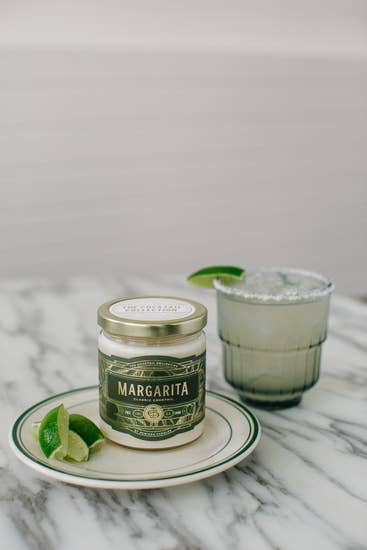 Margarita candle (7oz) 100% soy wax - Horse Country Trading Company