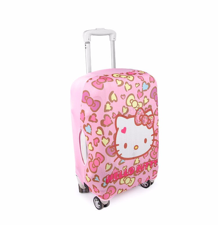 426d1210a430 Cute Hello Kitty Protective Luggage Covers – 4Suitcase
