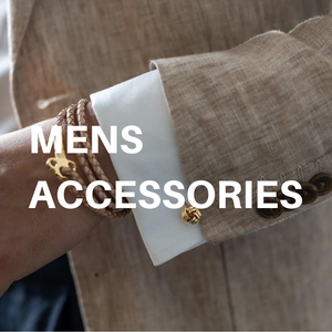 Men's accessories by Skultuna and John Henric