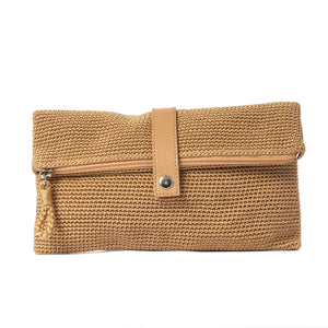 Clutch | Camel | Crochet