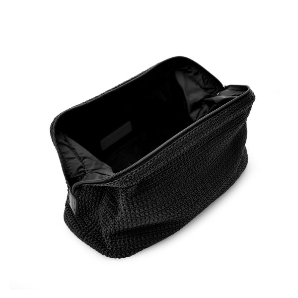 Cosmetic Bag | Black New Crochet - STOCKHOLM