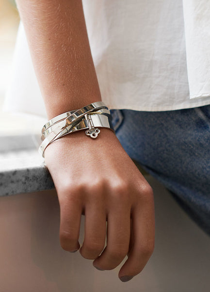 Bangle | Key Lock | Silver - STOCKHOLM