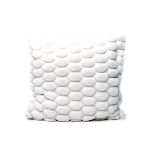Egg Collection | White Cushion Cover | Velvet