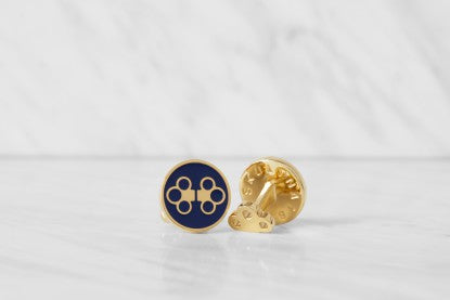 Cufflinks | The Double Key | Deep Blue - STOCKHOLM