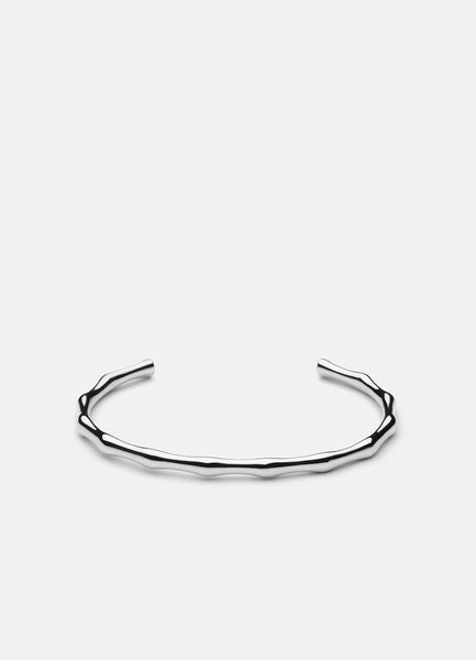 Bangle | Bambou | Silver Plated