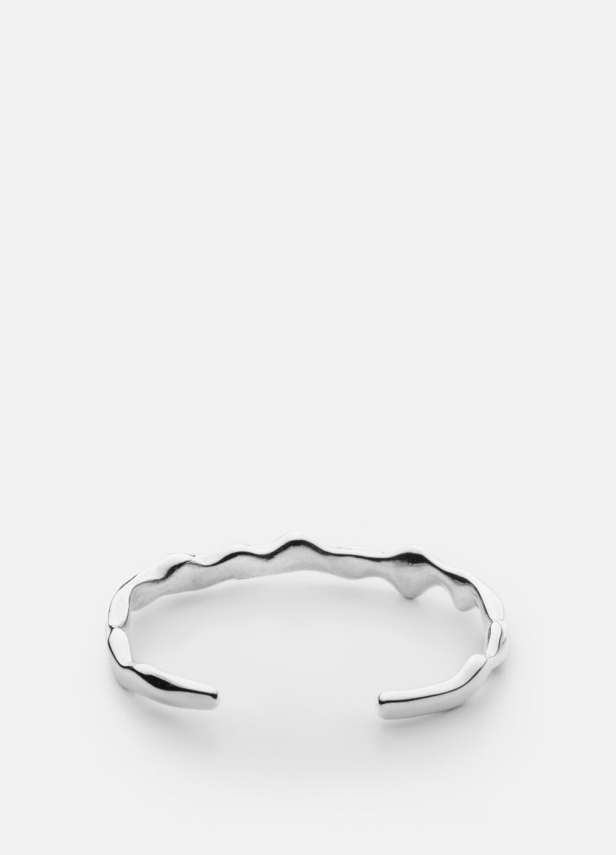 Bangle | Chunky Cuff | Silver Plated