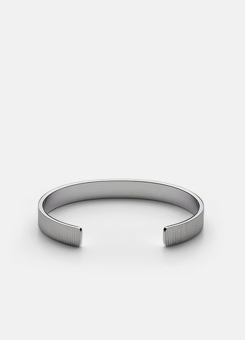 Bangle | Ribbed | Steel - STOCKHOLM
