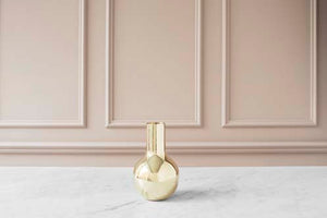 Boule Vase | Polished Gold | Small - STOCKHOLM