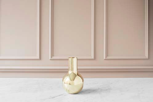 Vase | Boule | Polished Brass | Small - STOCKHOLM