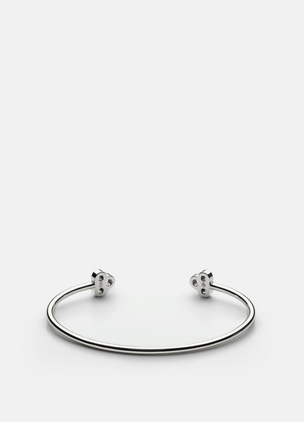Bangle | Open Key Cuff | Silver - STOCKHOLM
