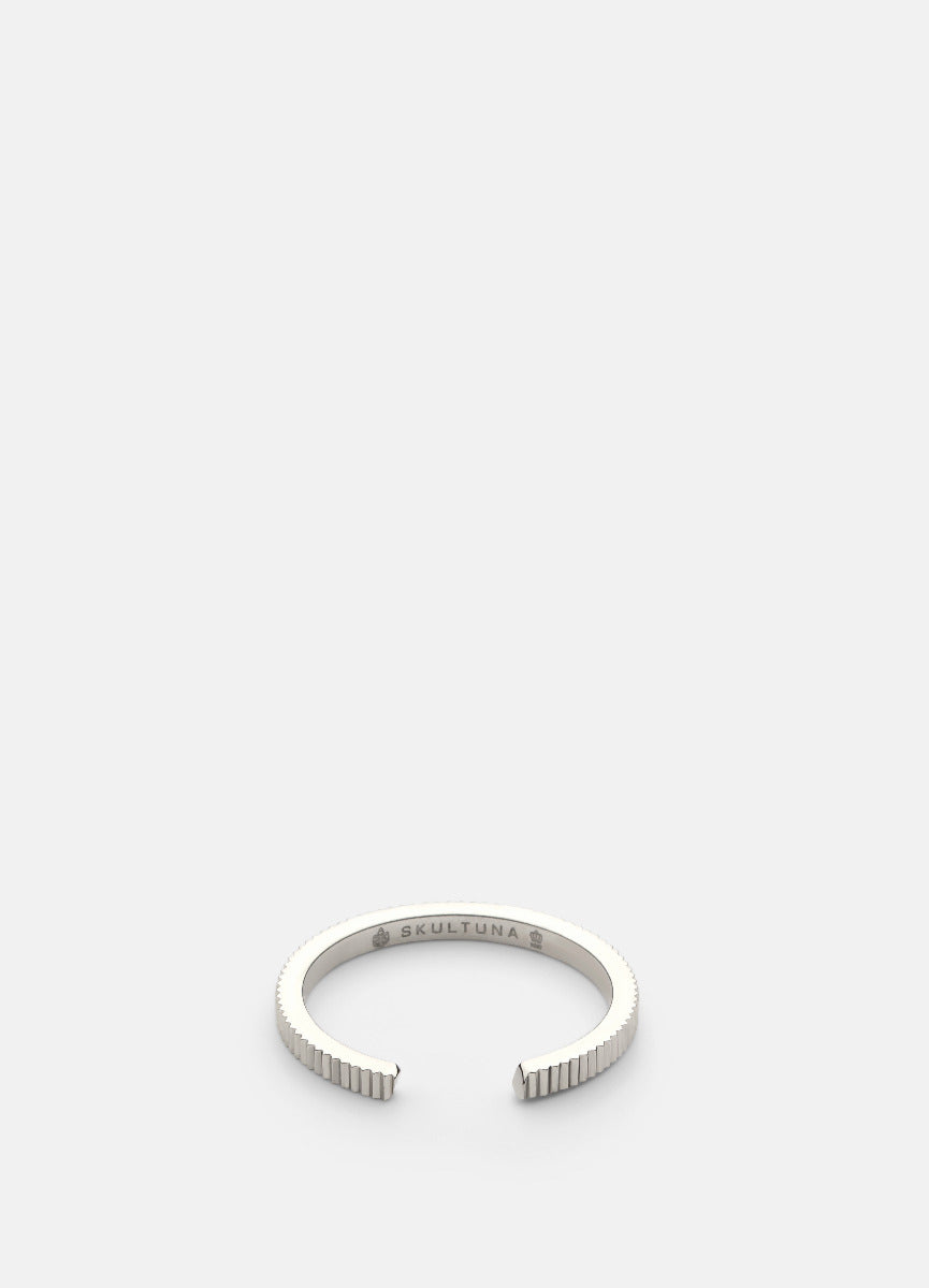 Ring | Ribbed Series | Thin | Steel - STOCKHOLM