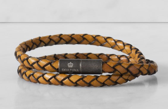 Leather Bracelet | The Stealth Bracelet | Brown - STOCKHOLM