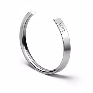 The Bangle | Wide Steel - STOCKHOLM
