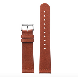 Watch Strap | Brown Classic Silver - STOCKHOLM