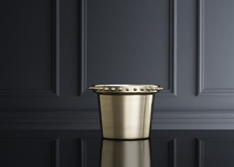 Pot | Spike | Polished Brass - STOCKHOLM