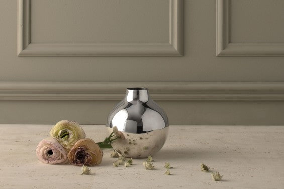 Boule Vase | Silver | Extra Small - STOCKHOLM