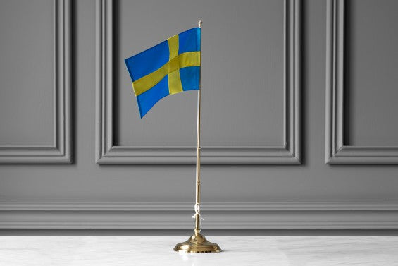 Flagpole with flag - STOCKHOLM