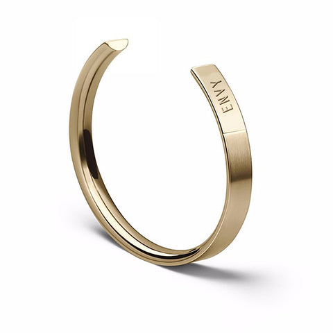 The Bangle | Wide Brass