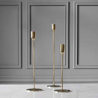 Candlestick | Nattlight | Brass | Large - STOCKHOLM