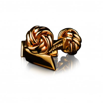 Cufflinks | Black Tie Collection | Gold Knot - STOCKHOLM