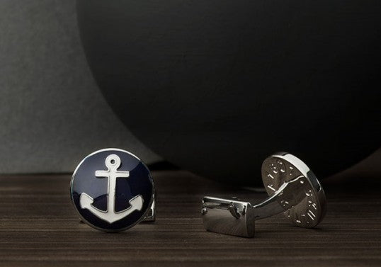 Cufflinks | The Anchor | Silver - STOCKHOLM