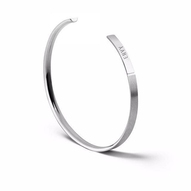 The Bangle | Slim Steel
