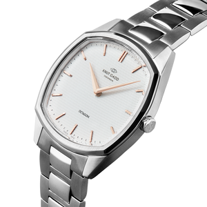 Octagon | Steel | White | Stainless Steel - STOCKHOLM