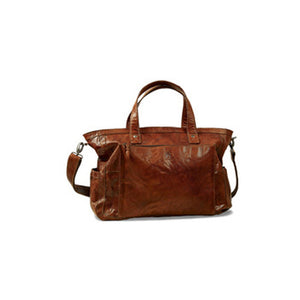 Weekend Bag | Brown | Waxed Buffalo Leather - STOCKHOLM