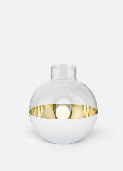 Vase | Pomme | Medium | White - STOCKHOLM