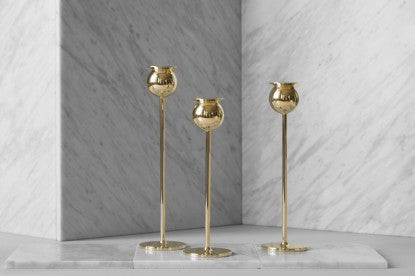Candlestick | The Tulip | Set of 3 - STOCKHOLM