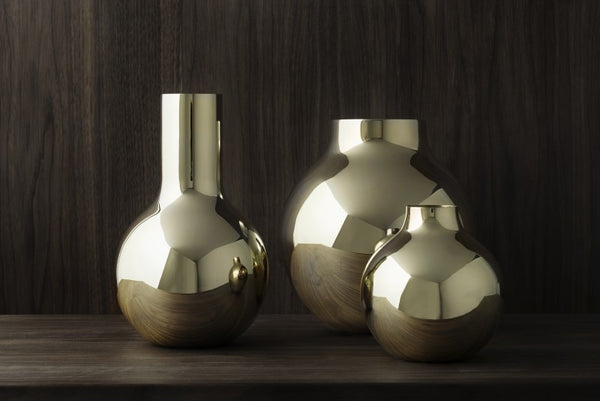 Boule Vase | Polished Gold | Large - STOCKHOLM