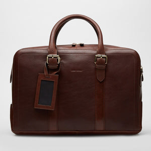 Laptop Bag | Vico | Chestnut Leather - STOCKHOLM